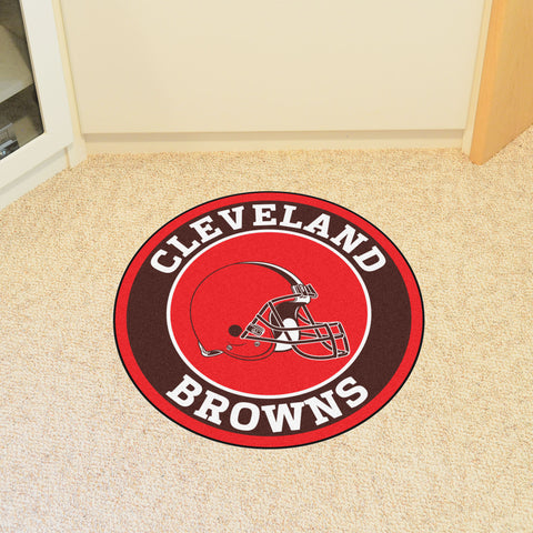 NFL Cleveland Browns Roundel Mat - Bed, Bath, And My Team