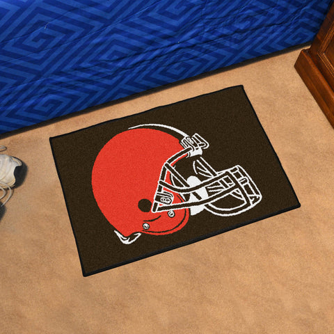 NFL Cleveland Browns STARTER Rug - Bed, Bath, And My Team