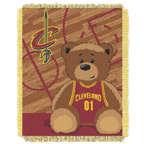 NBA Cleveland Cavaliers Baby Blanket - Bed, Bath, And My Team