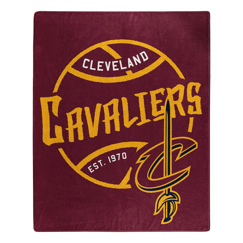 NBA Cleveland Cavaliers 50 x 60 Jersey Raschel Throw Blanket - Bed, Bath, And My Team