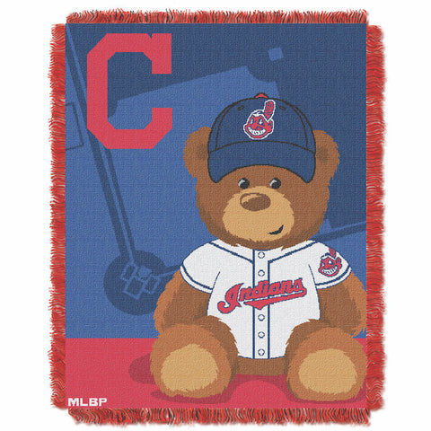 Cleveland Indians Baby Blanket