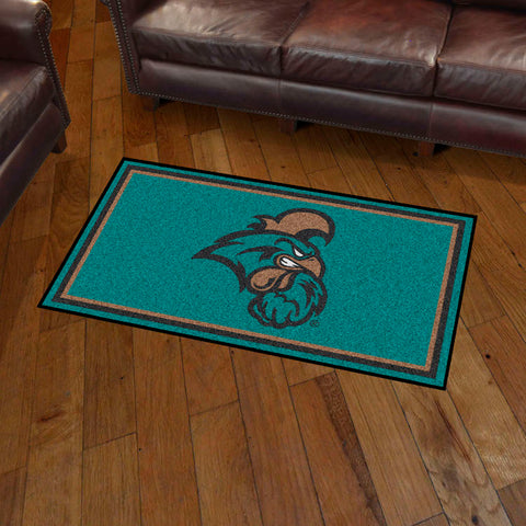 NCAA Coastal Carolina Chanticleers 3 X 5 Ft. Plush Area Rug - Bed, Bath, And My Team