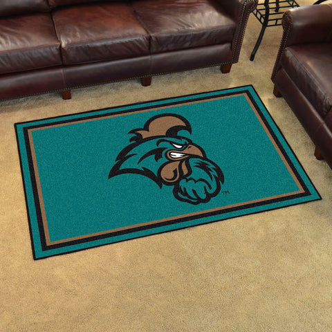 NCAA Coastal Carolina Chanticleers 4 X 6 Ft. Area Rug - Bed, Bath, And My Team