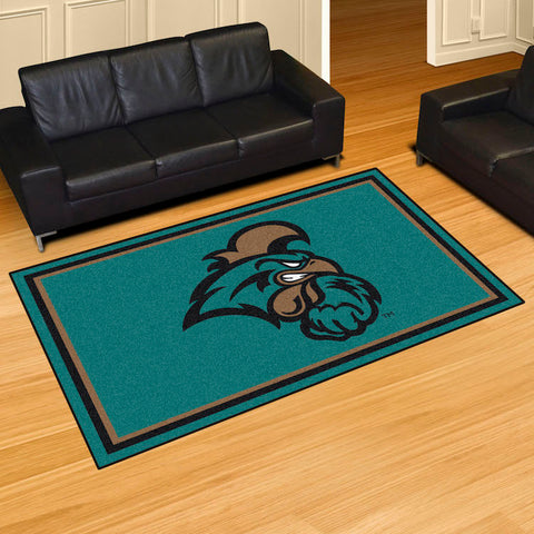 NCAA Coastal Carolina Chanticleers 5 X 8 Ft. Area Rug - Bed, Bath, And My Team