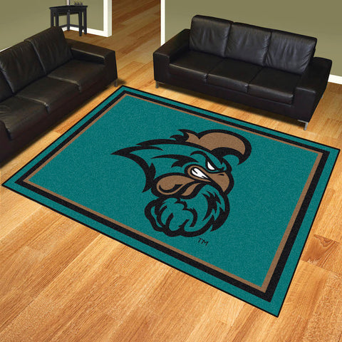 NCAA Coastal Carolina Chanticleers 8 X 10 Ft. Area Rug - Bed, Bath, And My Team