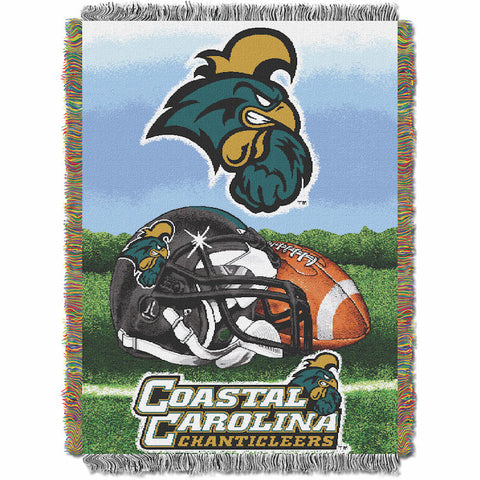 NCAA Coastal Carolina Chanticleers HOME FIELD ADVANTAGE Tapestry - Bed, Bath, And My Team