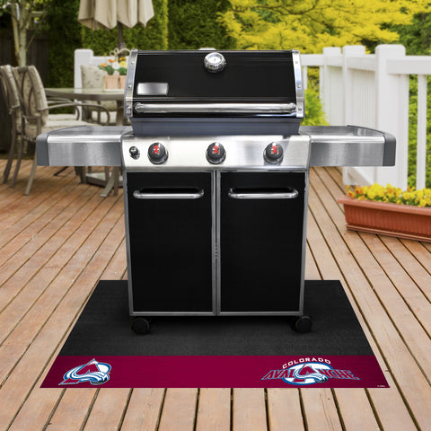 Colorado Avalanche Grill Mat