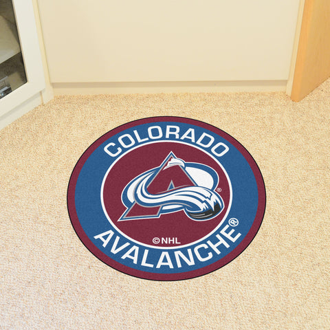 Colorado Avalanche Roundel Mat
