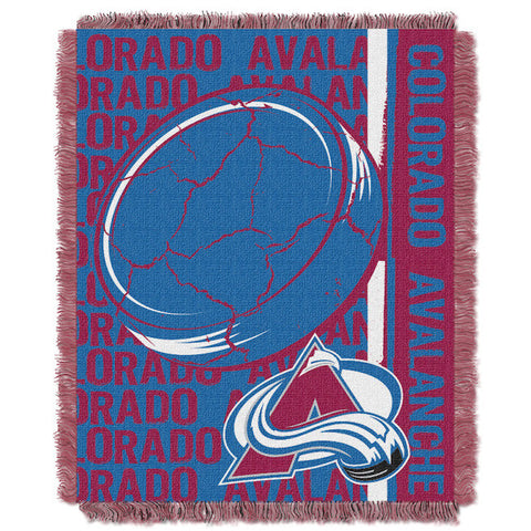 Colorado Avalanche Woven Tapestry