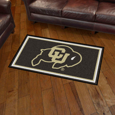 NCAA Colorado Buffaloes 3 X 5 Ft. Plush Area Rug - Bed, Bath, And My Team