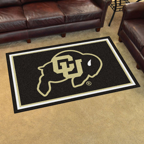NCAA Colorado Buffaloes 4 X 6 Ft. Area Rug - Bed, Bath, And My Team