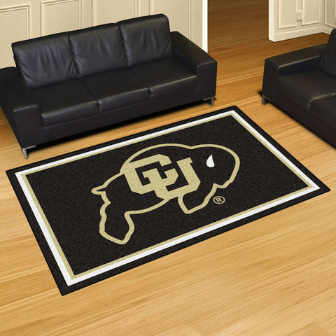 NCAA Colorado Buffaloes 5 X 8 Ft. Area Rug - Bed, Bath, And My Team