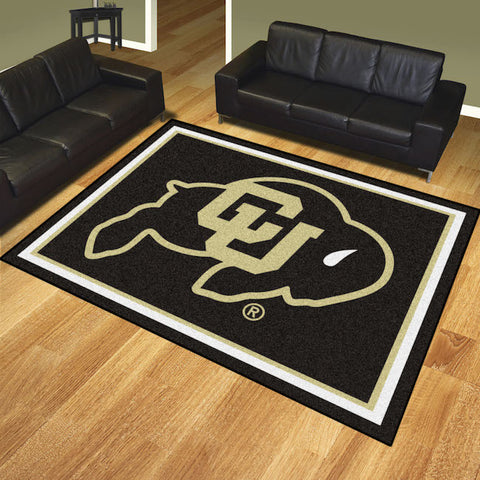 NCAA Colorado Buffaloes 8 X 10 Ft. Area Rug - Bed, Bath, And My Team