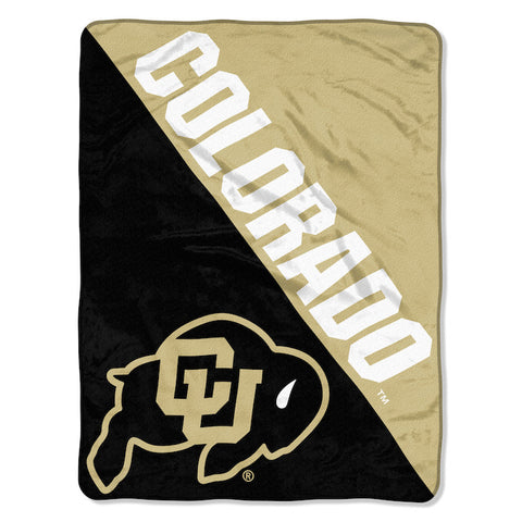 NCAA Colorado Buffaloes Micro Raschel Throw - Bed, Bath, And My Team