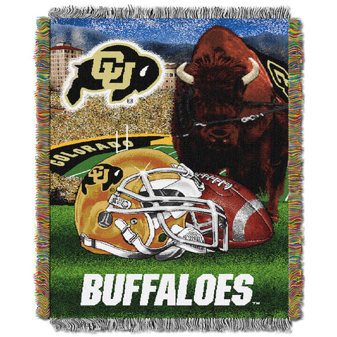 NCAA Colorado Buffaloes HOME FIELD ADVANTAGE Tapestry - Bed, Bath, And My Team