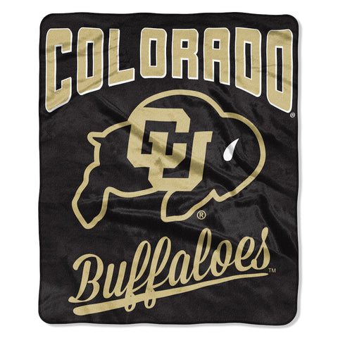 NCAA Colorado Buffaloes 50 x 60 Alumni Raschel Throw Blanket - Bed, Bath, And My Team
