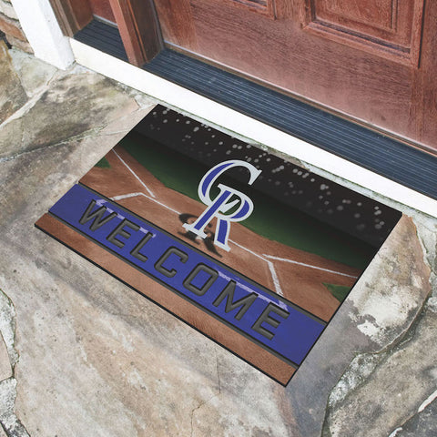 Colorado Rockies Crumb Doormat