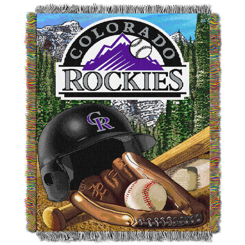 Colorado Rockies Home Field Advantage Tapestry