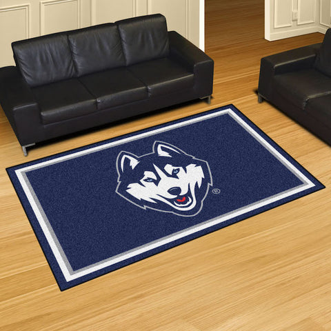 NCAA Connecticut Huskies 5 X 8 Ft. Area Rug - Bed, Bath, And My Team