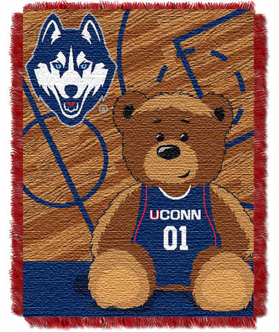NCAA Connecticut Huskies Baby Blanket - Bed, Bath, And My Team