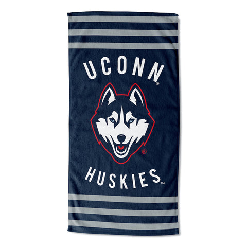 NCAA Connecticut Huskies Beach Towel - Bed, Bath, And My Team