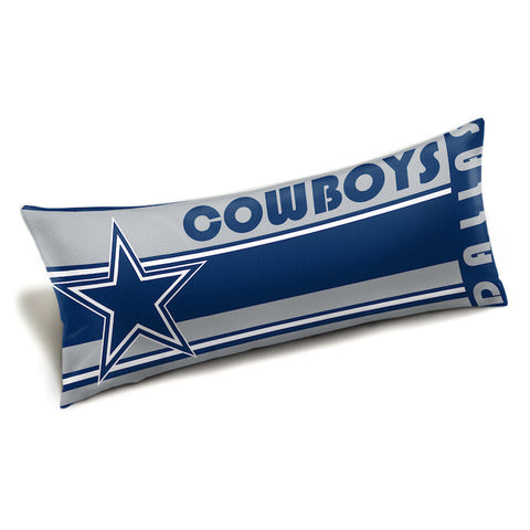 NFL Dallas Cowboys King Size Body Pillow - Bed, Bath, And My Team