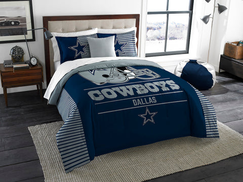 NFL Dallas Cowboys KING Comforter and Sham Set - Bed, Bath, And My Team