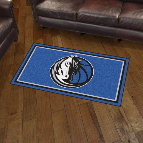 NBA Dallas Mavericks 3 X 5 Ft. Plush Area Rug - Bed, Bath, And My Team