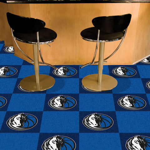 NBA Dallas Mavericks Carpet Tiles - Bed, Bath, And My Team