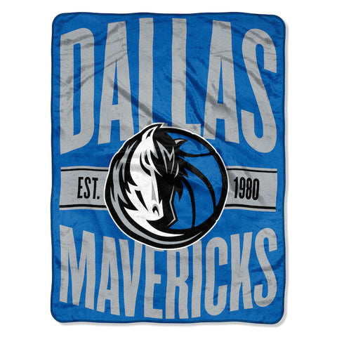 NBA Dallas Mavericks Micro Raschel Throw - Bed, Bath, And My Team