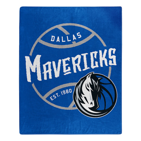 NBA Dallas Mavericks 50 x 60 Jersey Raschel Throw Blanket - Bed, Bath, And My Team