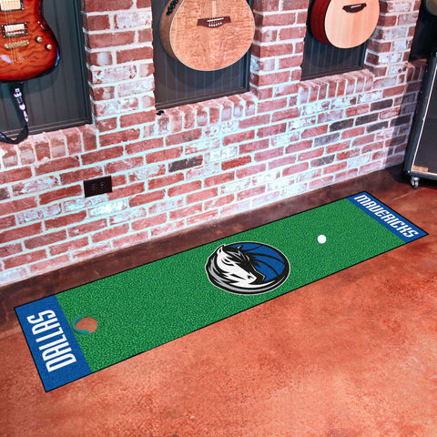 NBA Dallas Mavericks Putting Green Mat - Bed, Bath, And My Team