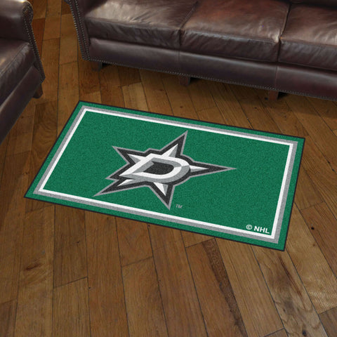 Dallas Stars 3 x 5 area rug