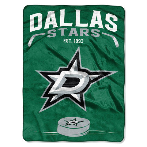 Dallas Stars large plush blanket