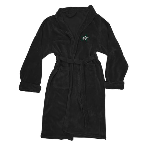 NHL Dallas Stars Silk Touch Mens Bath Robe (LG/XL) - Bed, Bath, And My Team