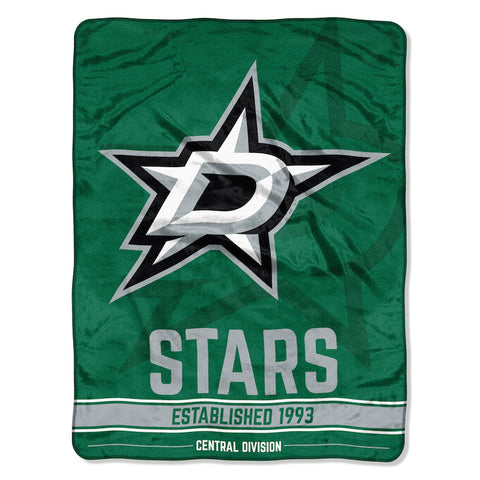 NHL Dallas Stars Micro Raschel Throw - Bed, Bath, And My Team