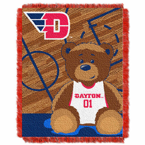 NCAA Dayton Flyers Baby Blanket - Bed, Bath, And My Team