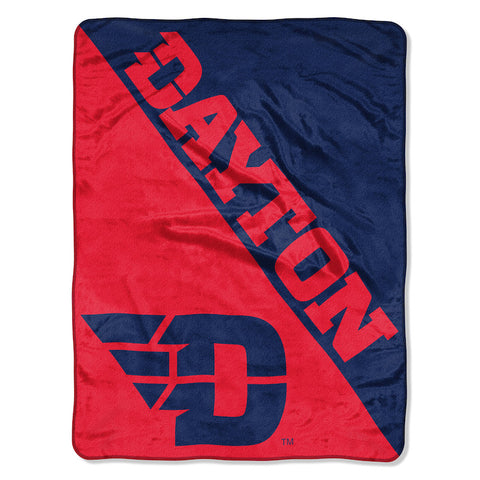 NCAA Dayton Flyers Micro Raschel Throw - Bed, Bath, And My Team