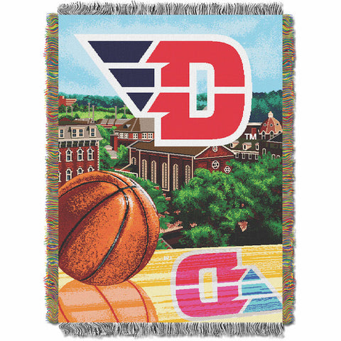 NCAA Dayton Flyers HOME FIELD ADVANTAGE Tapestry - Bed, Bath, And My Team