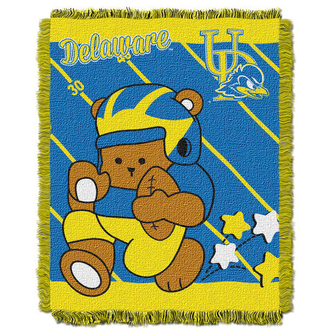 NCAA Delaware Blue Hens Baby Blanket - Bed, Bath, And My Team