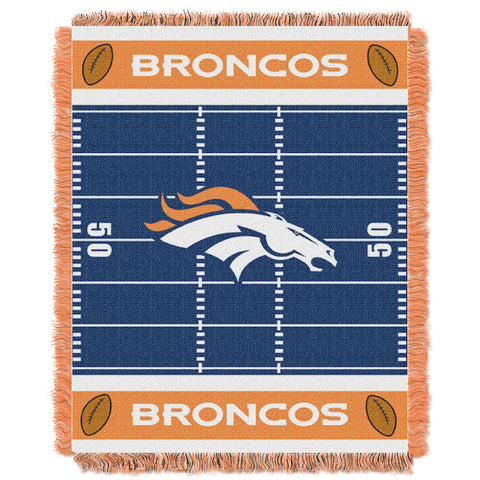 NFL Denver Broncos Baby Blanket - Bed, Bath, And My Team