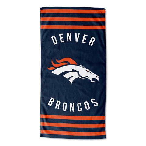 NFL Denver Broncos Beach Towel - Bed, Bath, And My Team