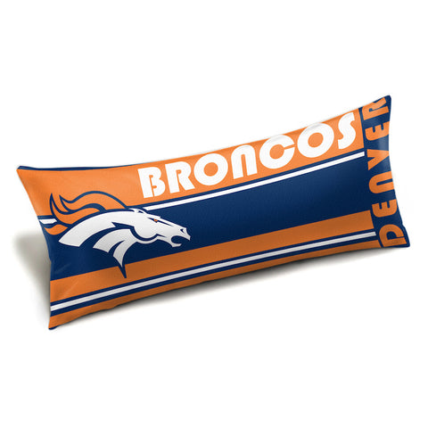 NFL Denver Broncos King Size Body Pillow - Bed, Bath, And My Team