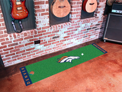 NFL Denver Broncos Putting Green Mat - Bed, Bath, And My Team