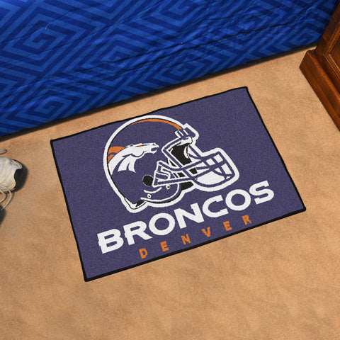 NFL Denver Broncos STARTER Rug - Bed, Bath, And My Team