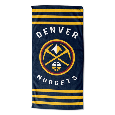 NBA Denver Nuggets Beach Towel - Bed, Bath, And My Team