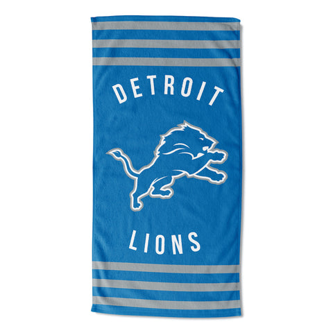 NFL Detroit Lions Beach Towel - Bed, Bath, And My Team