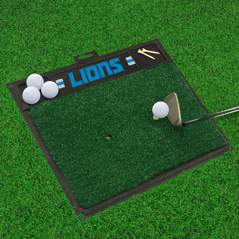 Detroit Lions Golf Ball Hitting Mat