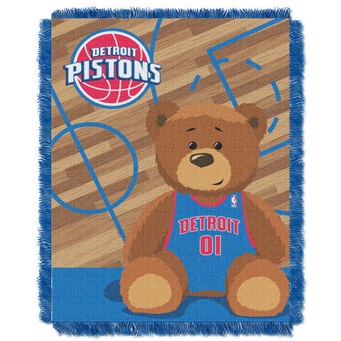 NBA Detroit Pistons Baby Blanket - Bed, Bath, And My Team