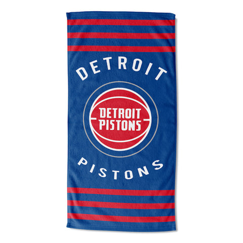 NBA Detroit Pistons Beach Towel - Bed, Bath, And My Team